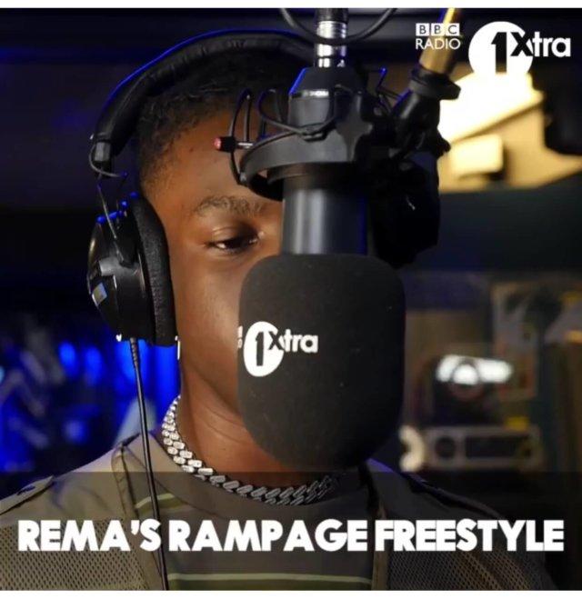 Rema – Rampage (Freestyle)