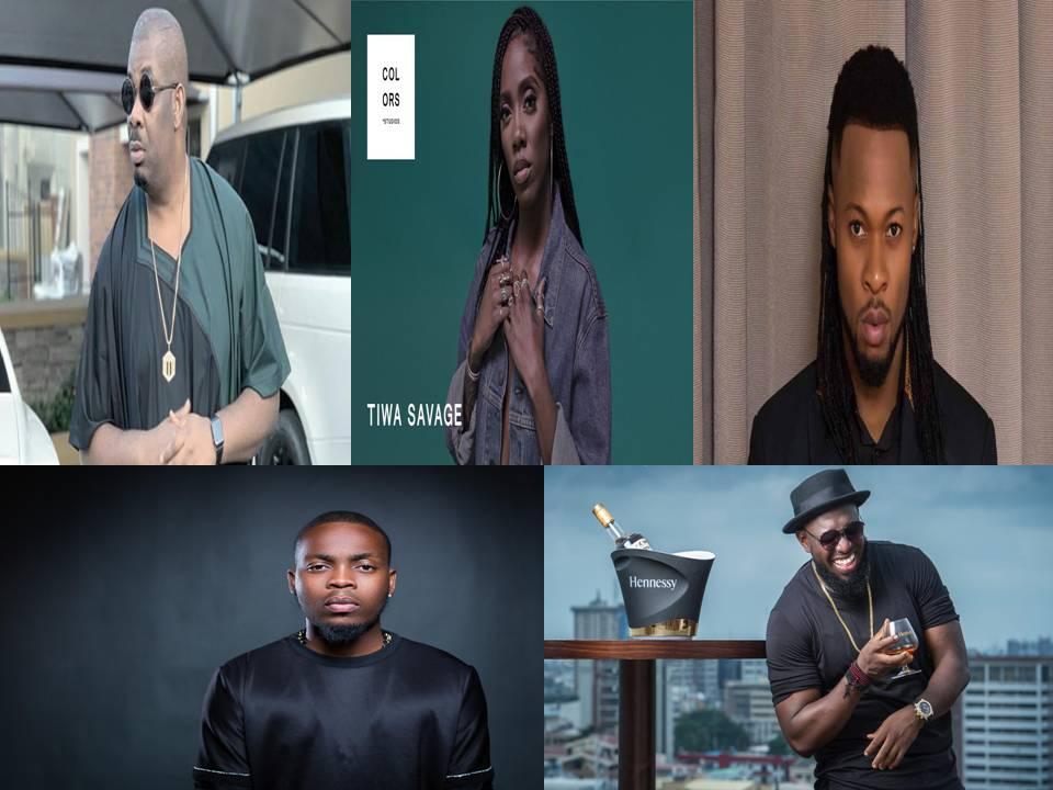 Nigerian Trending Artistes Since Years
