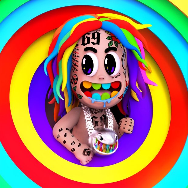 6ix9ine Ft. Leftside – Nini ( Instrumental )